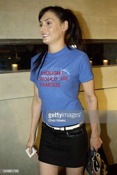 Famke Janssen during Endeavor's MTV Movie Awards Party Featuring Ciroc Vodka And LG Mobile Phones at Dolce in West Hollywood California United States