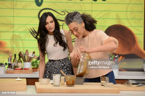 THE CHEW Famke Janssen is the guest today Tuesday March 7 2017 on ABC's 'The Chew' 'The Chew' airs MONDAY FRIDAY on the ABC Television Network HALL