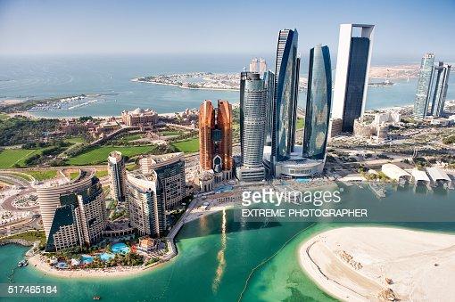 Famous buildings in Abu Dhabi