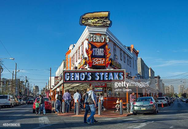 Famous Geno's Steaks South Philly
