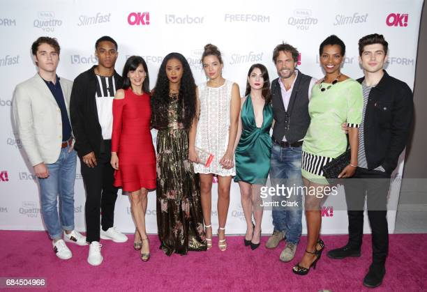 Famous In Love cast attends OK Magazine's Summer KickOff Party at W Hollywood on May 17 2017 in Hollywood California