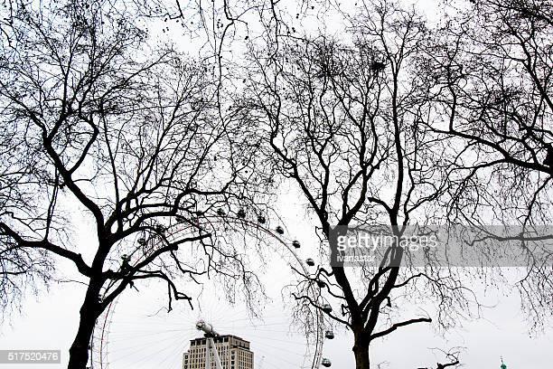 Famous London Eye Ferris Wheel