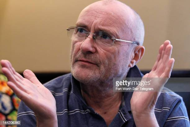 Famous musician Phil Collins speaks about his new book and life long fascination with the Alamo in Buffalo Gap Texas May 8 2012