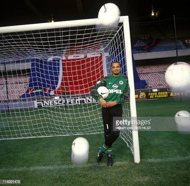 Famous or unknown people In Paris France In January 1997Bernard Lama Soccer Player