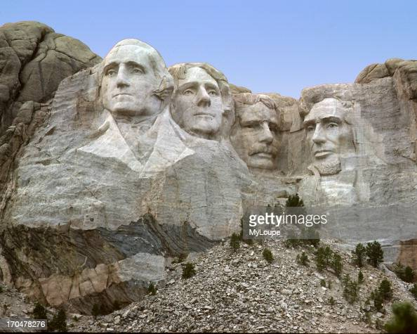 Mount rushmore monument completed years ago the