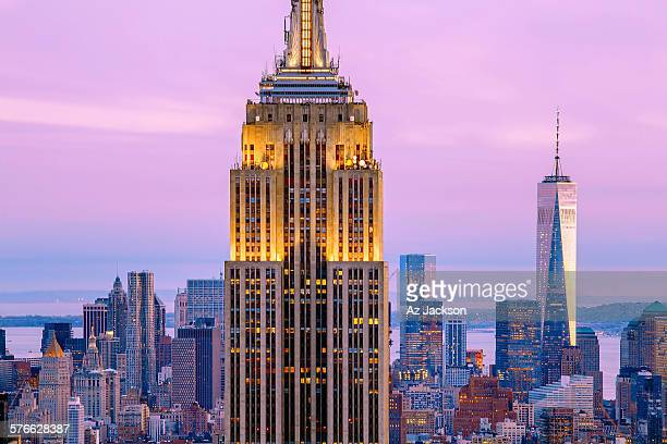 Famous Skyscrapers Of New York City