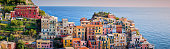 Colorful houses of Liguria