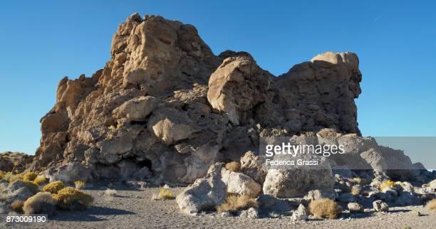 Famous Tufa Rock Formation Called Popcorn Rock