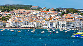 Famous village of Cadaques in sunny day. Costa Brava.