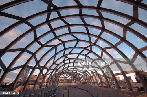 Famoso Webb Ponte Victoria em Melbourne, Austrália,