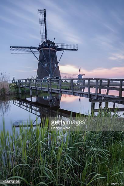 CONTENT] Famous Windmills in Kinderdijk Netherlands