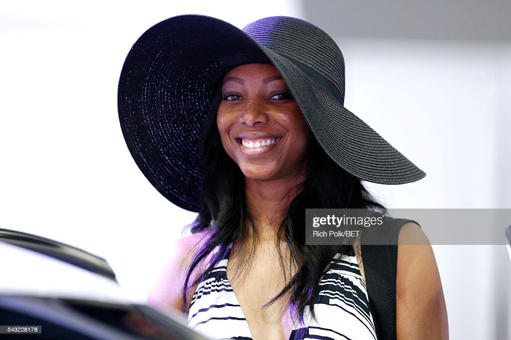 Fan attends the Fan Fest during the 2016 BET Experience on June 26, 2016 in Los Angeles, California.