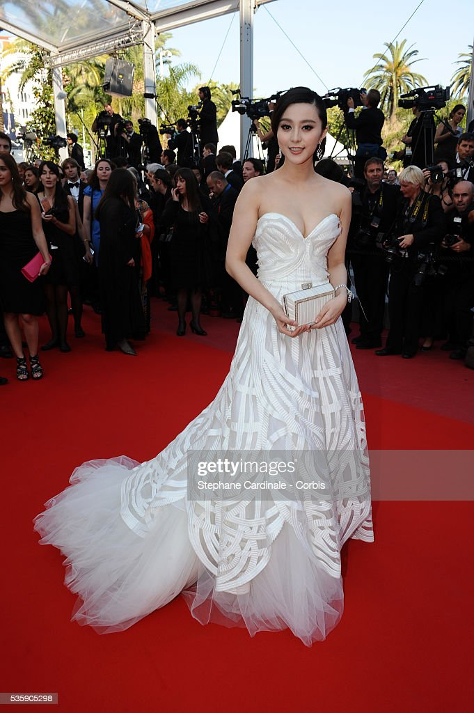 Fan Bing Bing at the Premiere for 'Biutiful' during the 63rd Cannes International Film Festival.