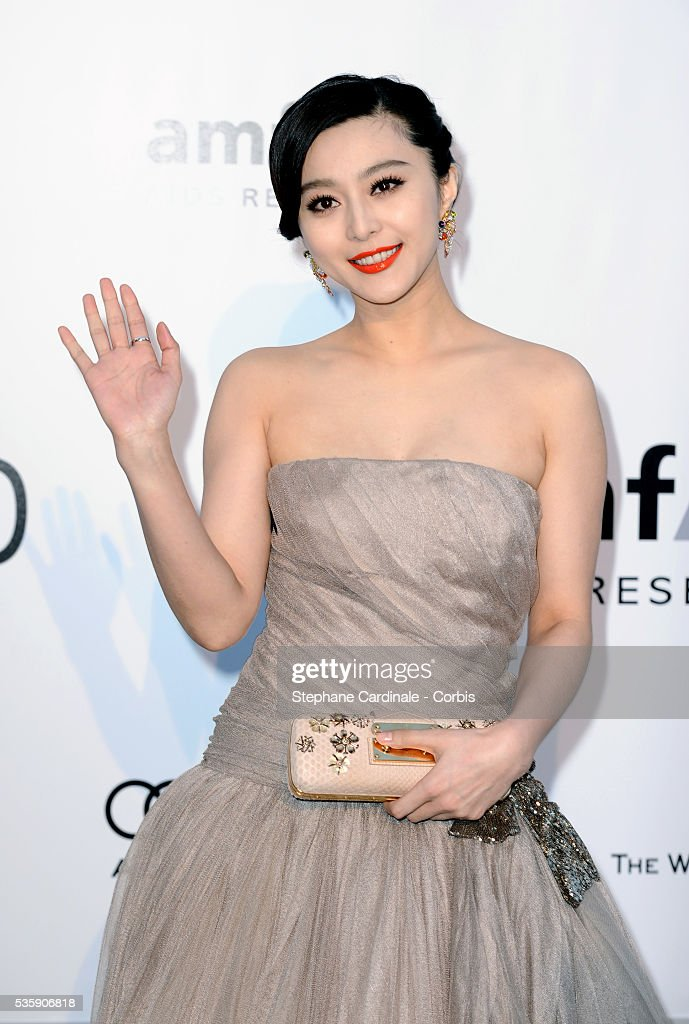 Fan Bing Bing attends the '2010 amfAR's Cinema Against AIDS' Gala - Arrivals