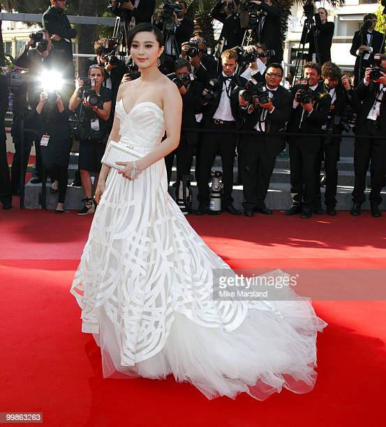 Fan Bing Bing attends the Biutiful Premiere at the Palais des Festivals during the 63rd International Cannes Film Festival on May 17 2010 in Cannes...