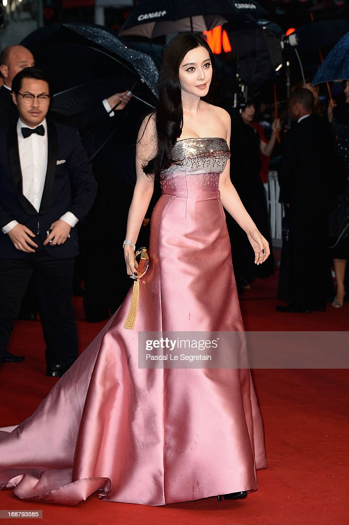 Fan Bing Bing attends the Opening Ceremony and 'The Great Gatsby' Premiere during the 66th Annual Cannes Film Festival at the Theatre Lumiere on May 15, 2013 in Cannes, France.