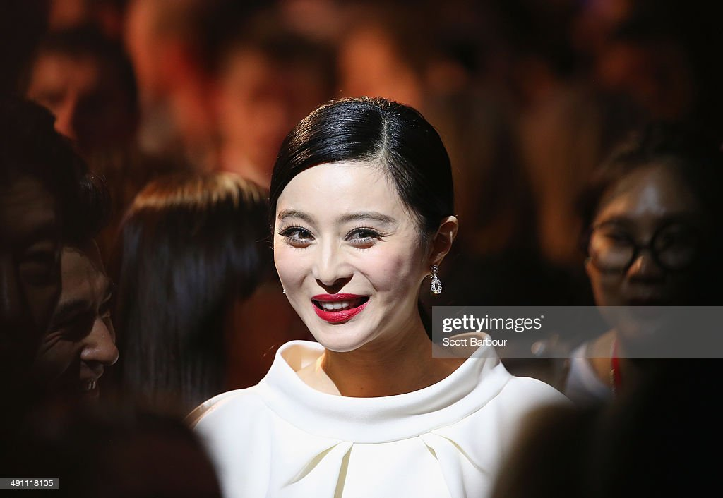 Fan Bingbing arrives at the Australian premiere of 'X-Men: Days of Future Past' on May 16, 2014 in Melbourne, Australia.