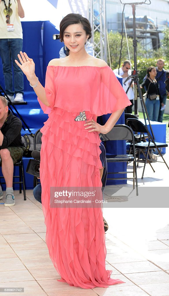 Fan BingBing at the Photocall for 'Chongqing Blues' during the 63rd Cannes International Film Festival.