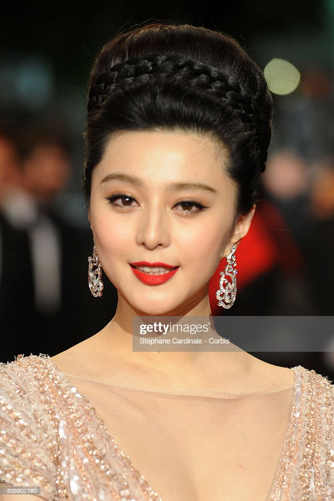 Fan BingBing at the premiere of ?Chongqing Blues? during the 63rd Cannes International Film Festival.