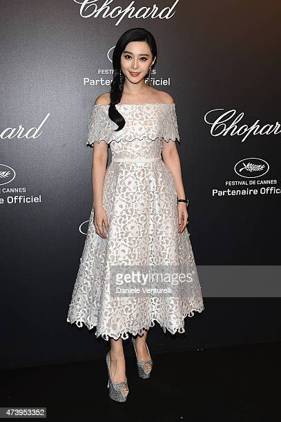 Fan Bingbing attends a celebrity party during the 68th annual Cannes Film Festival on May 18 2015 in Cannes France