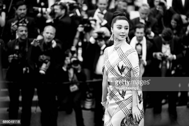 Fan Bingbing attends 'Amant Double ' Red Carpet Arrivals during the 70th annual Cannes Film Festival at Palais des Festivals on May 26 2017 in Cannes...