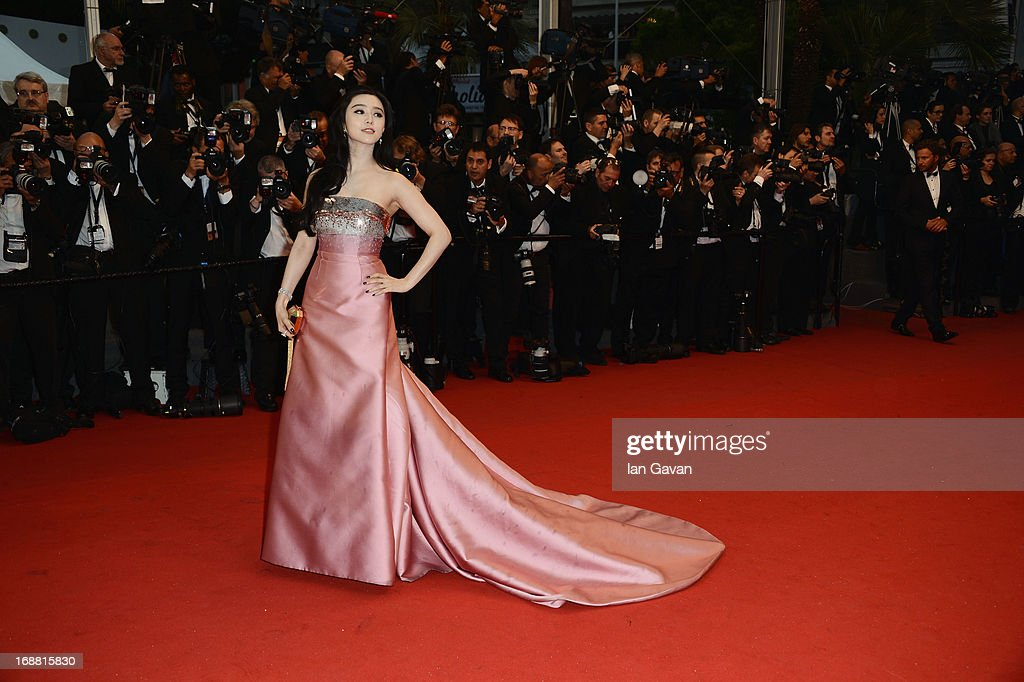 Fan Bingbing attends Electrolux at Opening Night of The 66th Annual Cannes Film Festival at the Theatre Lumiere on May 15, 2013 in Cannes, France.