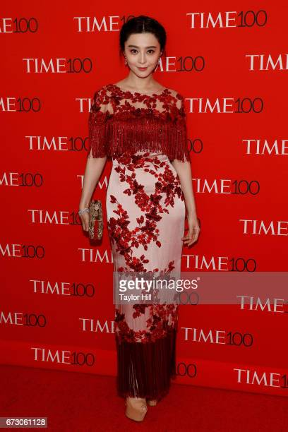 Fan Bingbing attends the 2017 Time 100 Gala at Jazz at Lincoln Center on April 25 2017 in New York City
