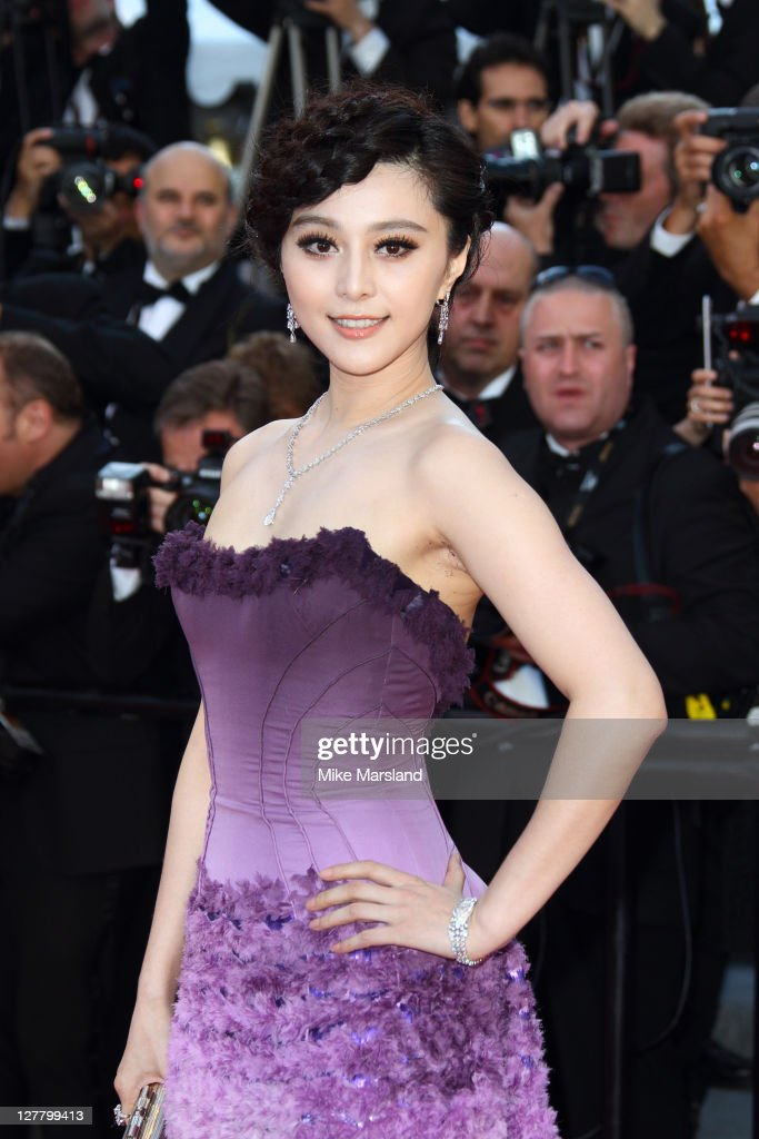 Fan Bingbing attends 'The Artist' premiere at the Palais des Festivals during the 64th Annual Cannes Film Festival on May 15, 2011 in Cannes, France.
