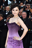 Fan Bingbing attends 'The Artist' premiere at the Palais des Festivals during the 64th Annual Cannes Film Festival on May 15 2011 in Cannes France