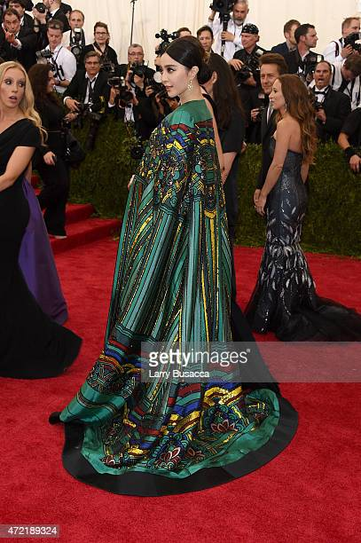 Fan Bingbing attends the 'China Through The Looking Glass' Costume Institute Benefit Gala at the Metropolitan Museum of Art on May 4 2015 in New York...