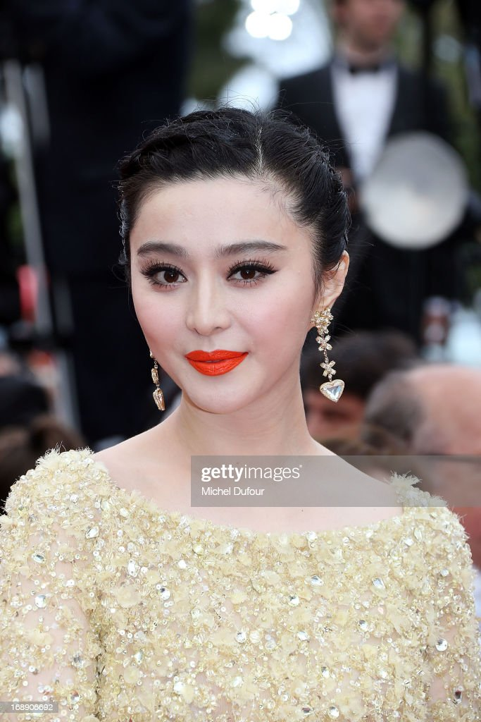 Fan Bingbing attends the 'Jeune & Jolie' premiere during The 66th Annual Cannes Film Festival at the Palais des Festivals on May 16, 2013 in Cannes, France.