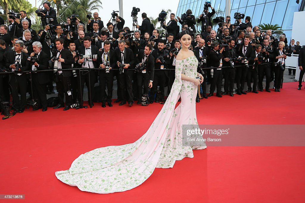 Fan Bingbing attends the opening ceremony and 'La Tete Haute' premiere during the 68th annual Cannes Film Festival on May 13 2015 in Cannes France