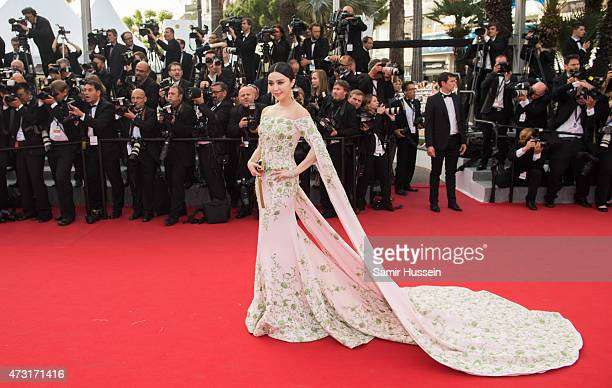Fan Bingbing attends the opening ceremony and premiere of 'La Tete Haute during the 68th annual Cannes Film Festival on May 13 2015 in Cannes France