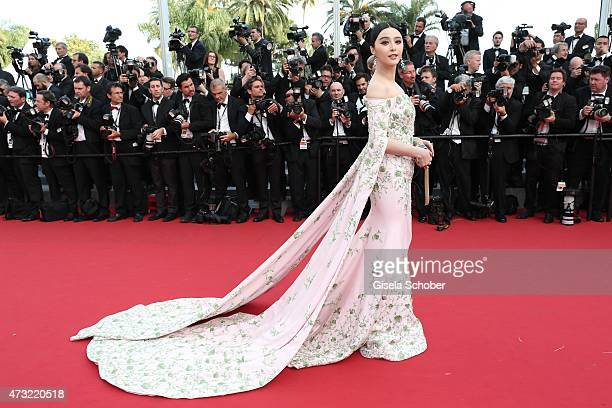 Fan Bingbing attends the opening ceremony and premiere of 'La Tete Haute' during the 68th annual Cannes Film Festival on May 13 2015 in Cannes France