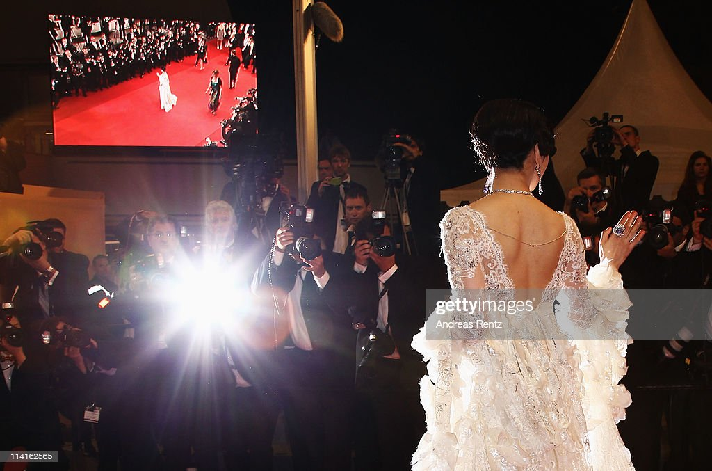 Fan Bingbing attends the 'Polisse' premiere at the Palais des Festivals during the 64th Cannes Film Festival on May 13, 2011 in Cannes, France.