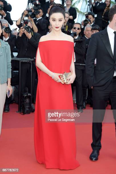 Fan Bingbing attends the 'The Beguiled' screening during the 70th annual Cannes Film Festival at Palais des Festivals on May 24 2017 in Cannes France