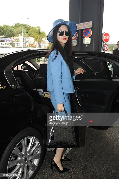 Fan Bingbing is seen arriving at Nice airport during The 66th Annual Cannes Film Festival on May 15 2013 in Nice France