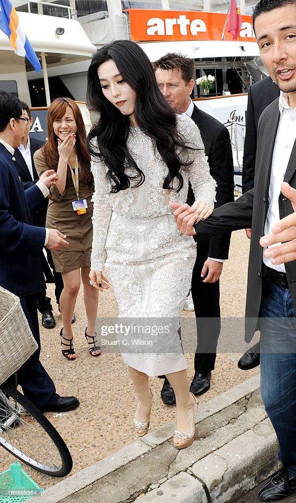 Fan Bingbing is seen during The 66th Annual Cannes Film Festival on May 16, 2013 in Cannes, France.