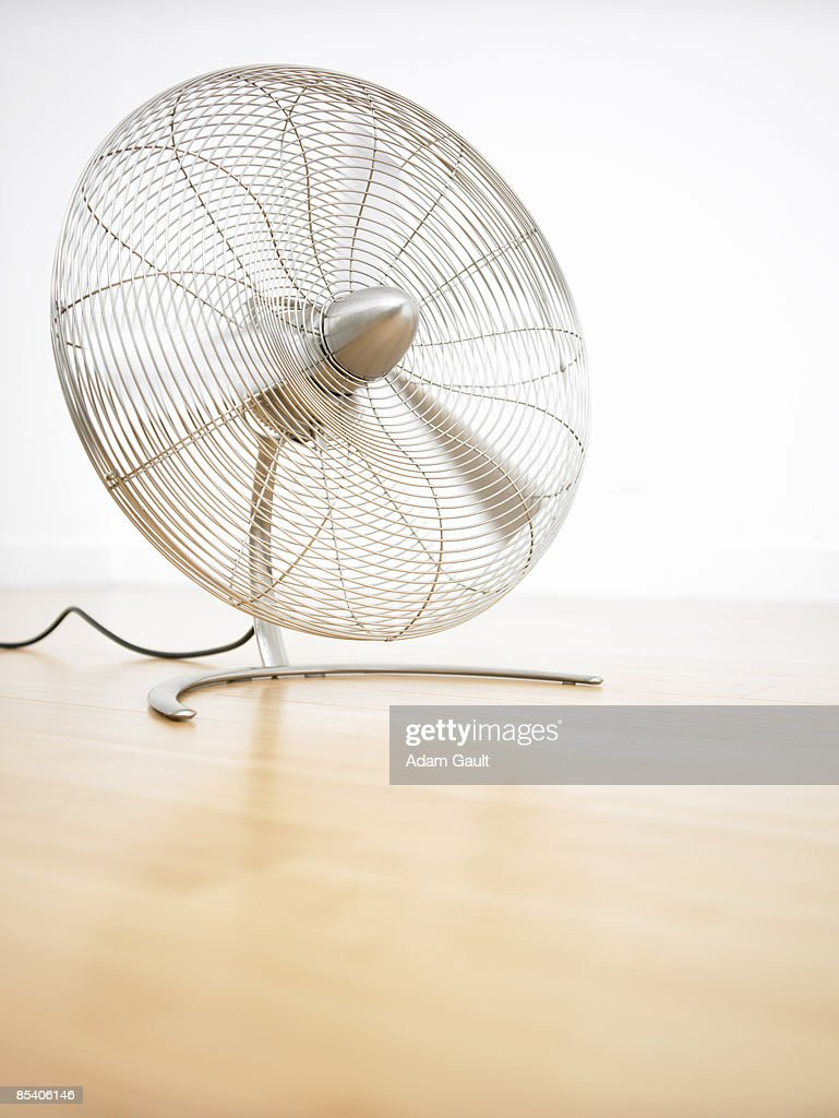 Fan blowing air : Stock Photo
