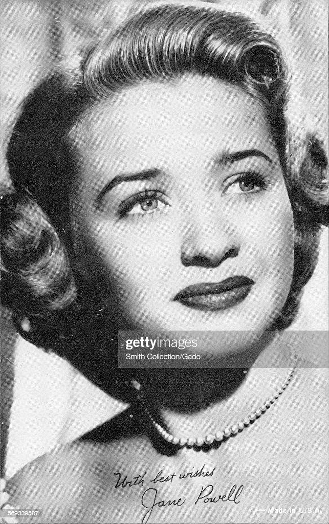 Fan club photo of Jane Powell 1943