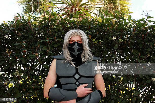Fan Damon McKayHosa poses during The SMASH Sydney Manga and Anime Show at Rosehill Gardens on August 8 2015 in Sydney Australia