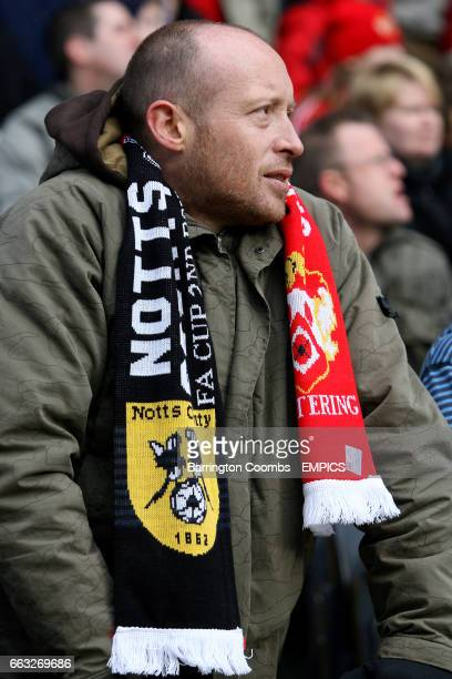 A fan in the stands