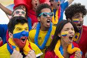 Fan of Colombia