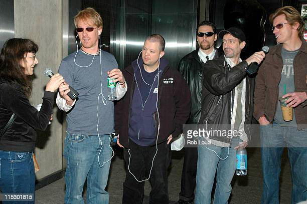 Fan Patty Greg 'Opie' Hughes Jim Norton Anthony Cumia and Denis Leary