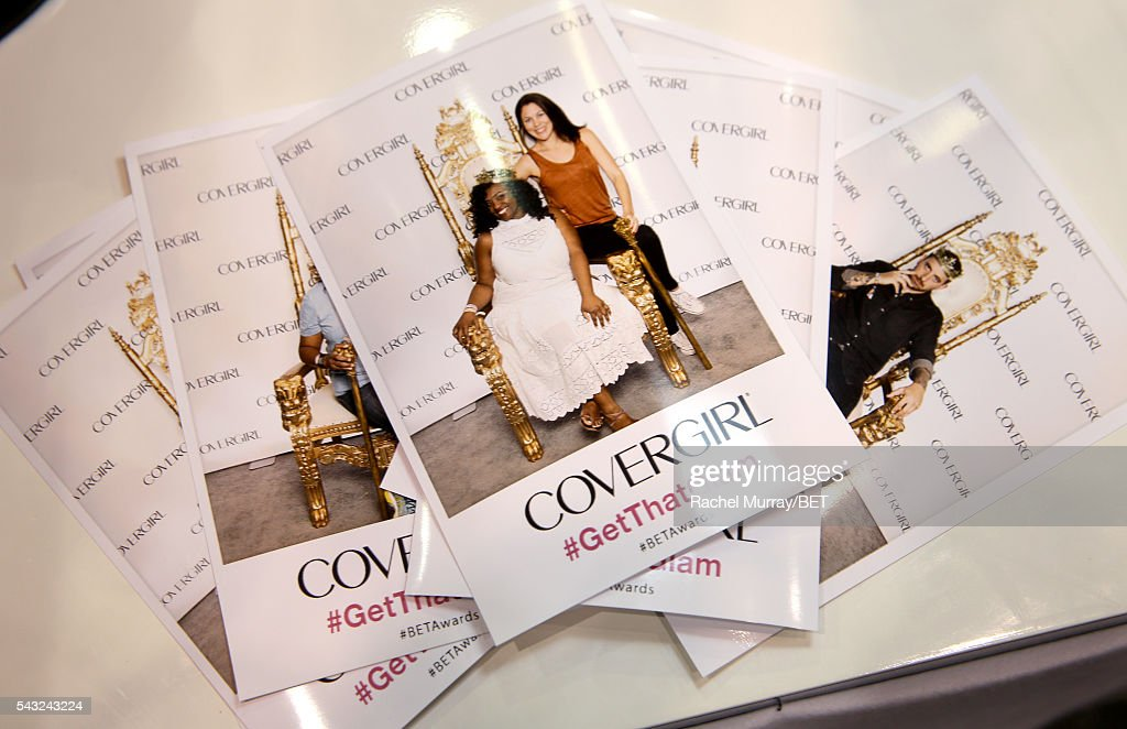 Fan photos are seen at Fashion And Beauty @BETX presented by Progressive, Covergirl, Strength of Nature, Korbel and Macy's during the 2016 BET Experience on June 26, 2016 in Los Angeles, California.