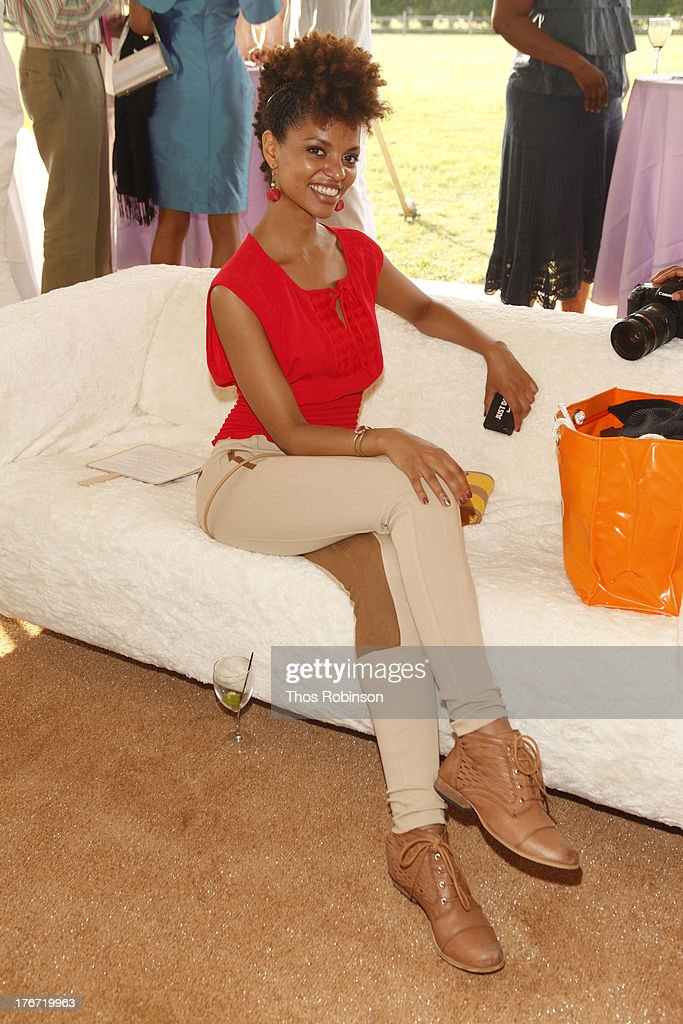 Fana Tesfagiorgis, Alvin Ailey dancer attends Evidence, A Dance Company Hosts 10th Annual 'On Our Toes'... In The Hamptons Summer Benefit at The Hayground School on August 17, 2013 in Bridgehampton, New York.