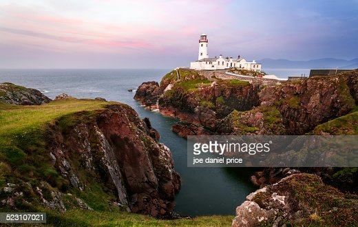 Fanad's Head Lighthouse, Sunset, Donegal, Ireland