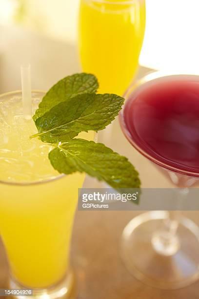 Des cocktails originaux au centre de villégiature de luxe