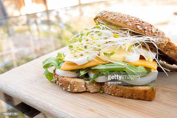 Fancy Egg Sandwich