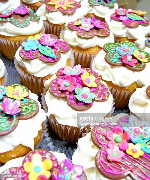 Fancy Floral Cupcakes